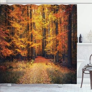 Other - Forest Autumn Woods Shower Curtain